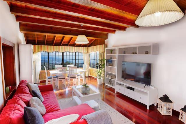Alojamiento con balcón de 1 habitación
