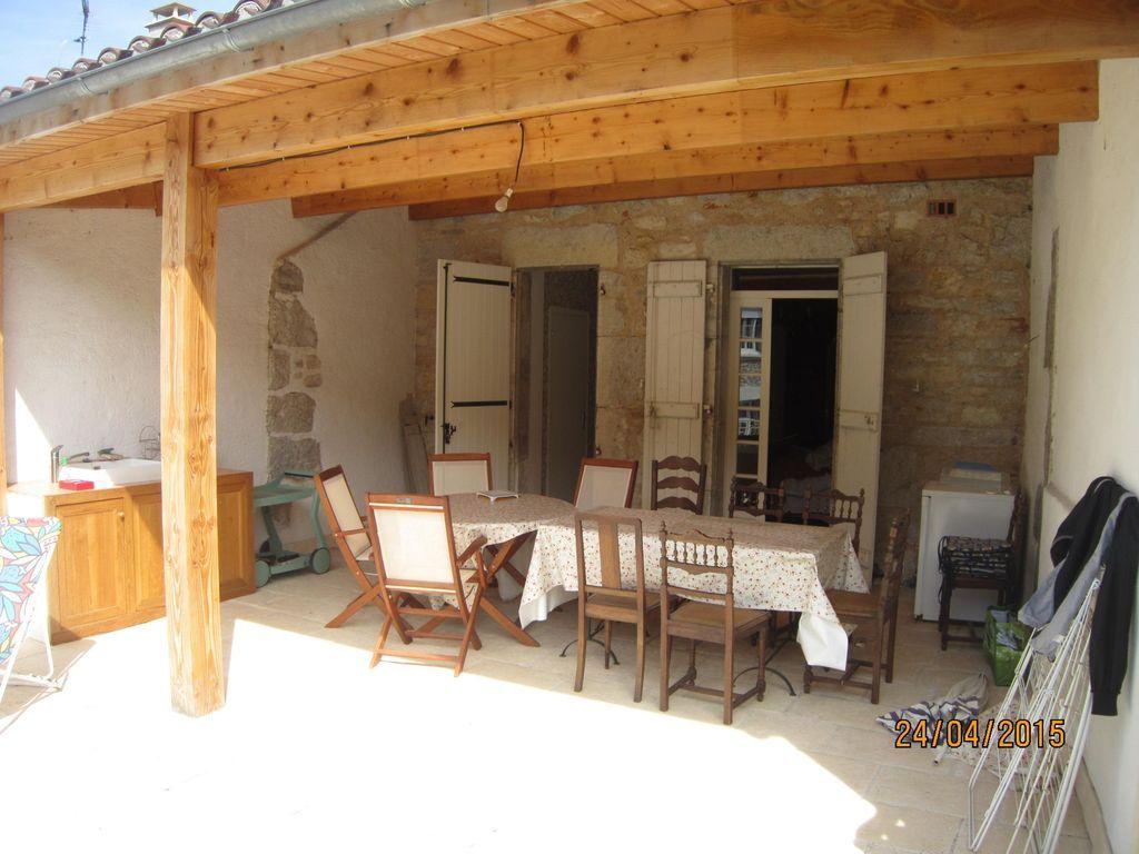 Casa para 10 personas en Cajarc