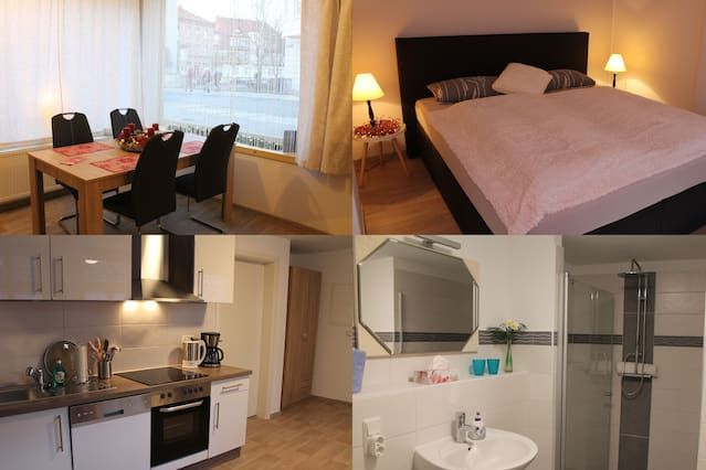 Eingerichtete Wohnung für 2 Personen