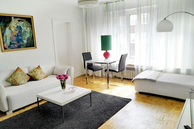 Alojamiento en Düsseldorf de 1 habitación
