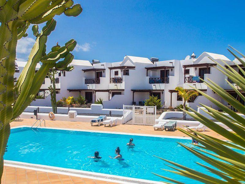 Hébergement pour 4 voyageurs à Playa blanca
