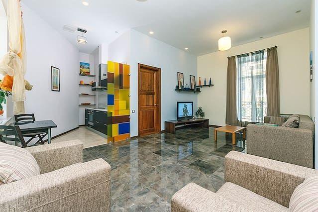 Equipado apartamento con wi-fi