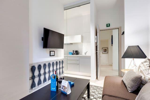 Ferienunterkunft auf 35 m² mit 1 Zimmer