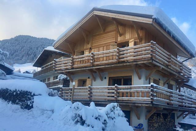 Residencia para 9 personas en Megève