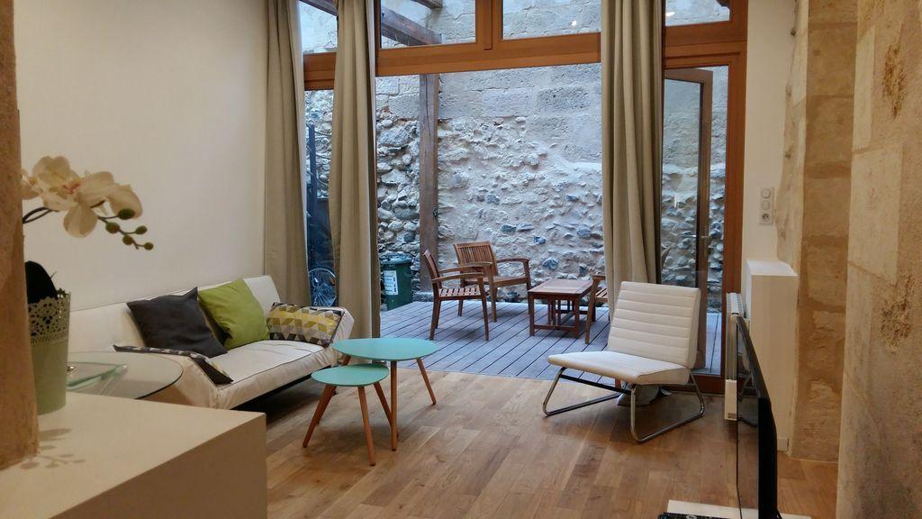 Apartamento en Burdeos para 4 huéspedes