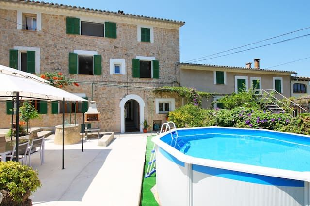 Vivienda de 2 habitaciones con piscina