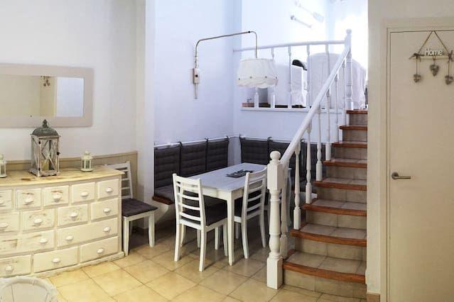 Dotado alojamiento de 3 habitaciones