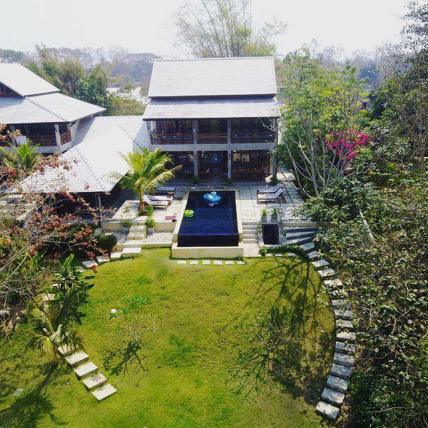 PING POOL VILLA 1, private riverfront pool villa