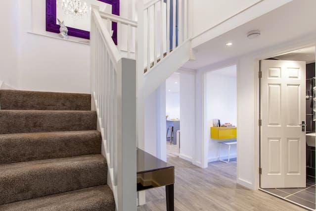 Apartamento provisto de 4 habitaciones