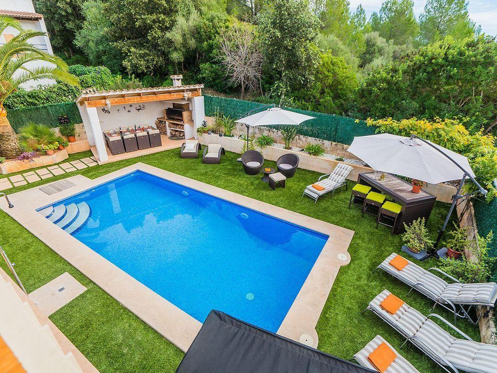 Alojamiento en Alcudia con piscina