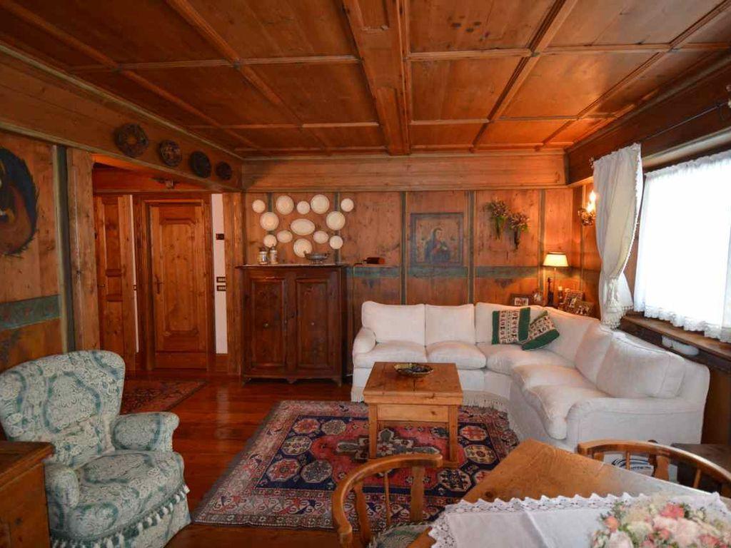 Ferienunterkunft in Cortina d'ampezzo mit Garten