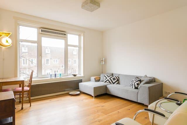 Hébergement à Amsterdam avec 1 chambre