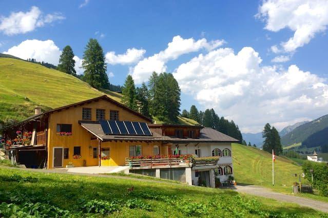 Apartamento en Davos frauenkirch con jardín