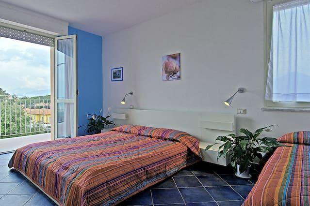 Casa vacanze di 2 camere a Marina di pietrasanta
