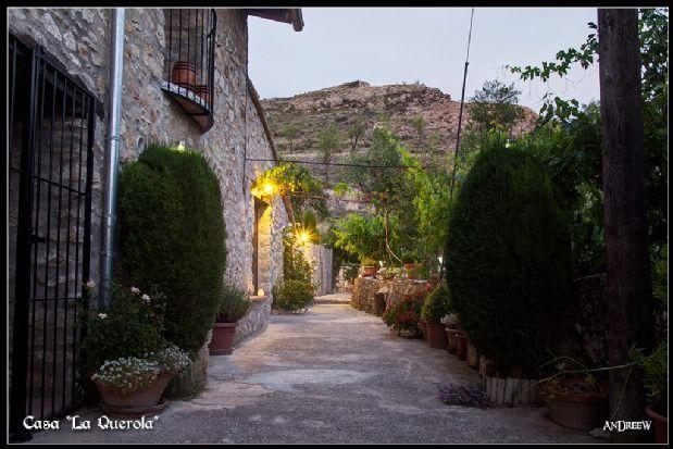 Alojamiento en Morella con parking incluído