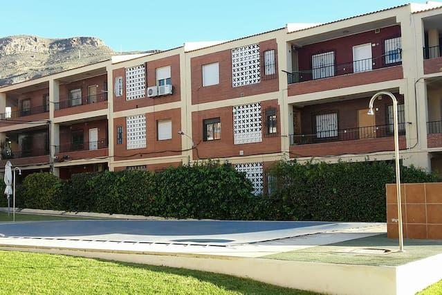 Apartamento agradable de 82 metros en Aguadulce