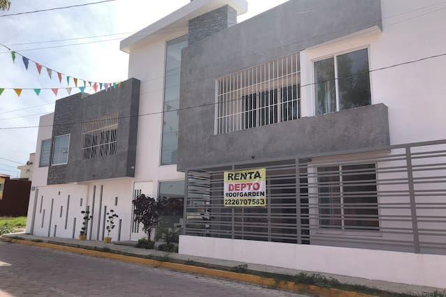 Vivienda en Tlaxcalancingo con parking incluído