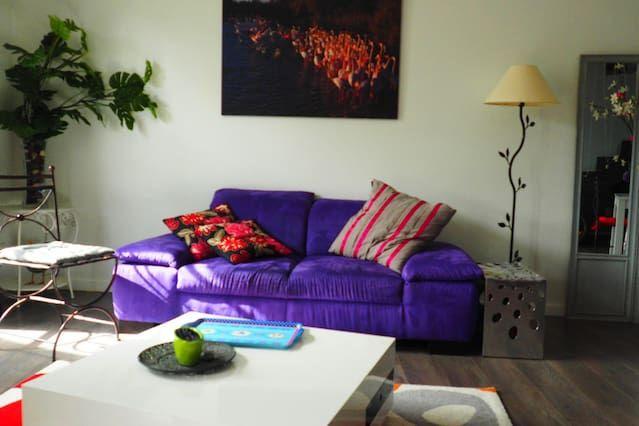 Atractiva residencia con wi-fi