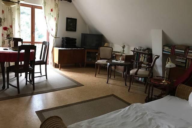 Alojamiento en Güstrow con jardín