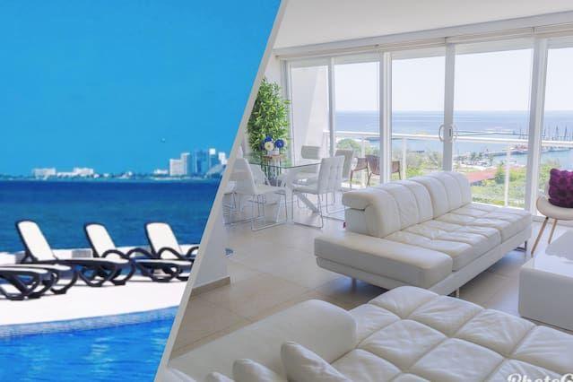 Alojamiento en Cancún de 2 habitaciones