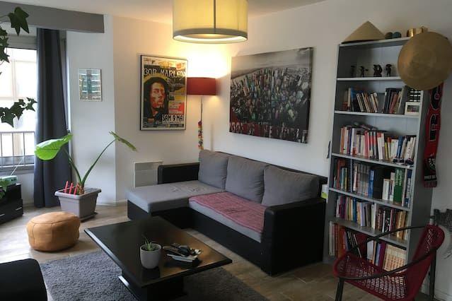 T2 bis rénové de 65 m²