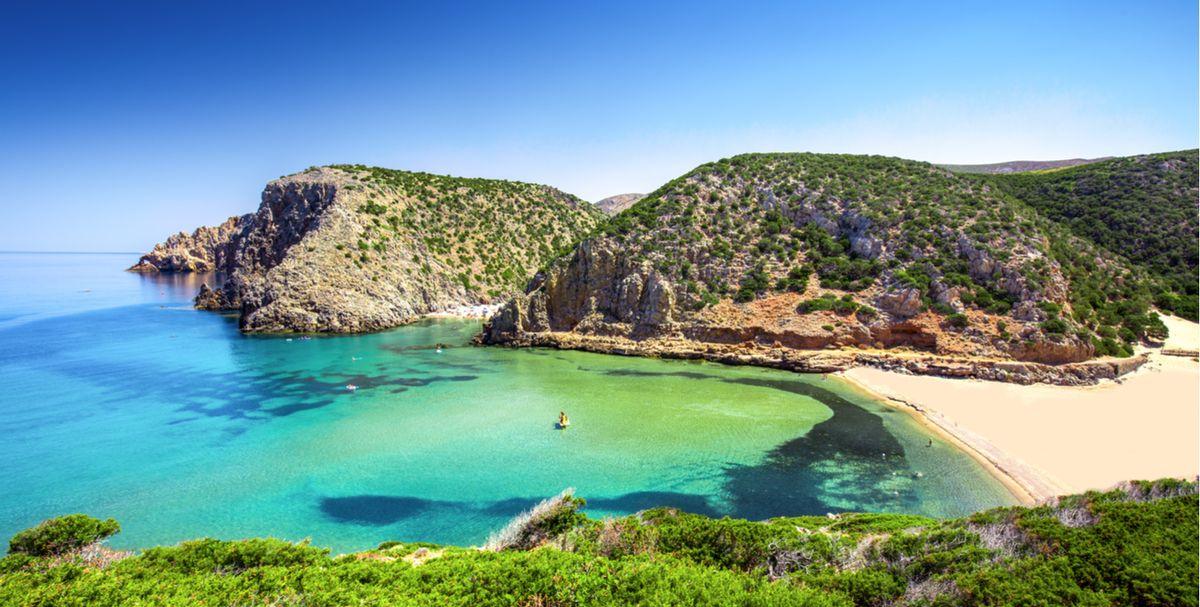 Cartina Spiagge Sardegna Nord.Le Spiagge Piu Belle Della Sardegna Da Nord A Sud Foto E Mappa