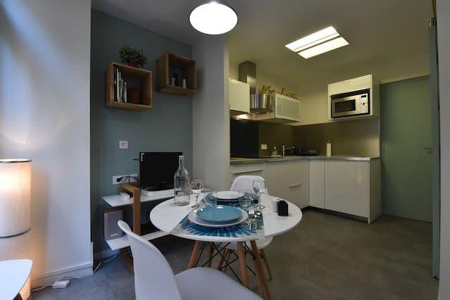 Maravilloso apartamento de 1 habitación