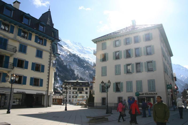 Alojamiento en Chamonix town centre de 1 habitación