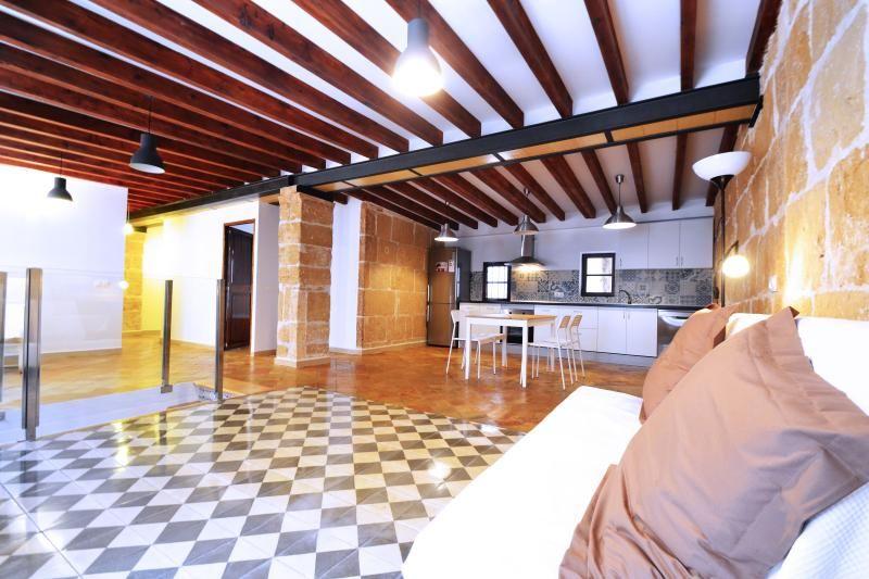 Bonito alojamiento vacacional en Palma de mallorca con Calefacción y Cocina