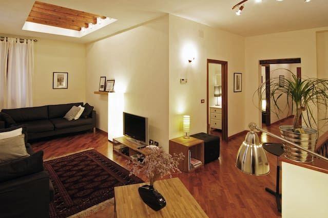 Piso con estilo de 2 habitaciones en Venecia