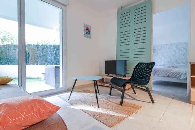 Appartement pour 4 PAX avec jardin
