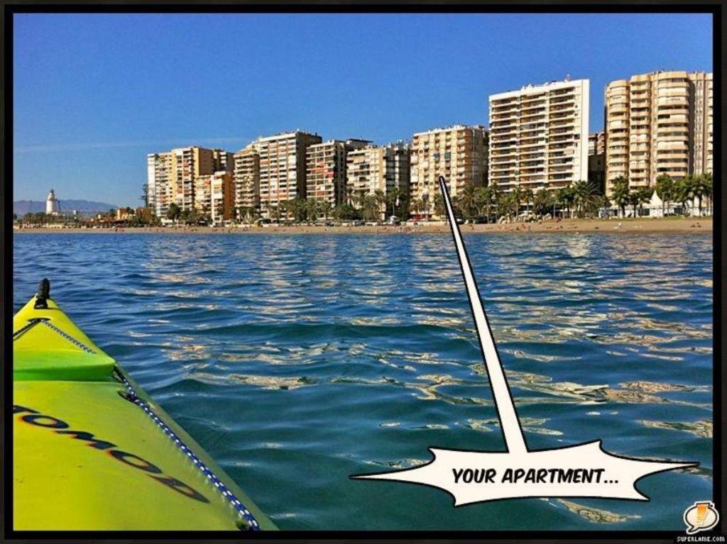 Perfecto alojamiento vacacional para 4 huéspedes en Málaga