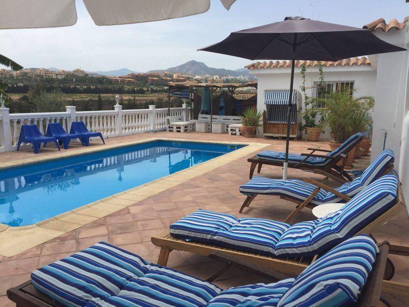 Villa Margarita  Marbella with pool and garden