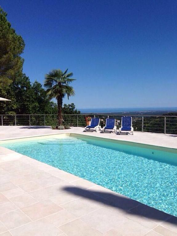 Beautiful villa with pool and fantastic view