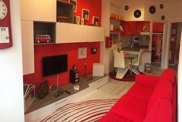 Hogareño apartamento con  Ascensor en La coruña