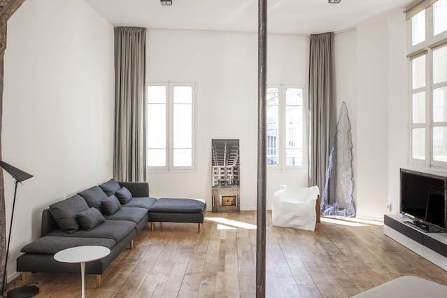 loft design spacieux (1500 pieds carrés) au coeur de canal très branché de Saint-Martin