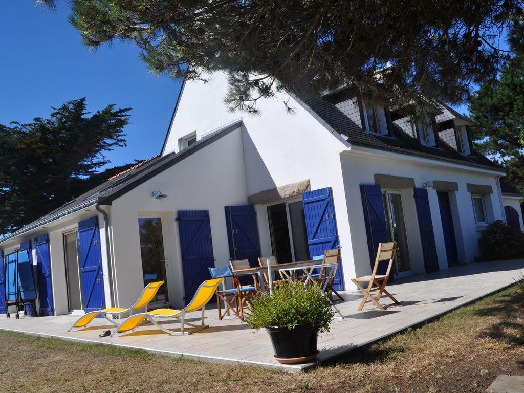 Villa de lujo, tranquilo cómoda terraza, luminoso, para la gente 8à10