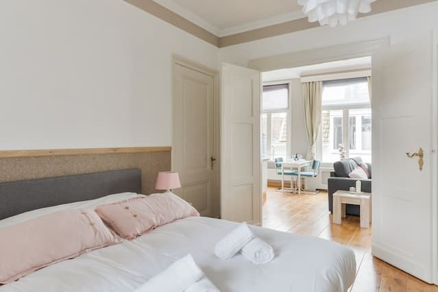 (Kosterstraat Zandvoort) Ampio Famiglia Beach Apartment (4p) - Two Bedroom Apartment, 4 posti letto