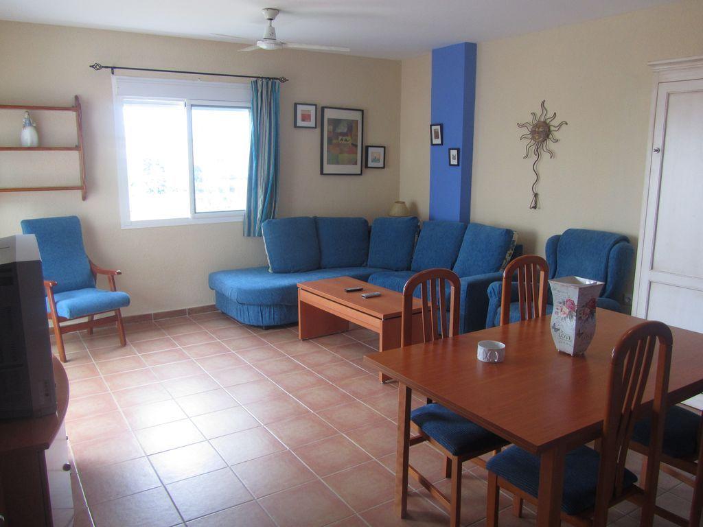 Piso vacacional de 2 habitaciones en Zahara de los atunes