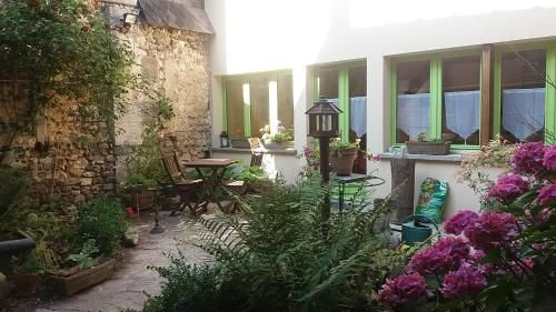 Apartamento con jardín de 1 habitación