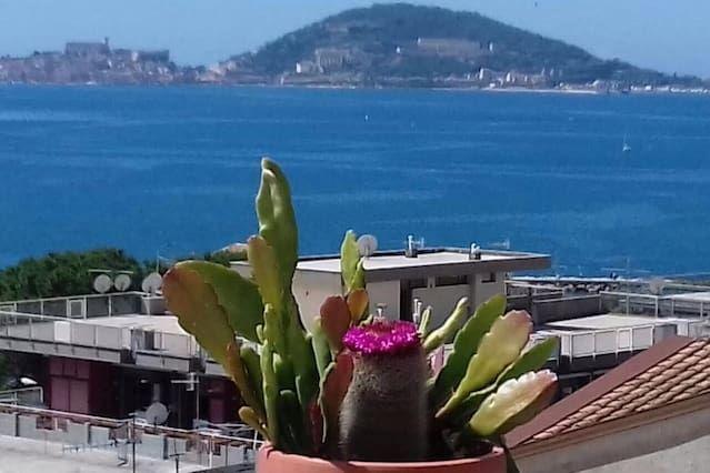Casa vacanze di 1 stanza con balcone