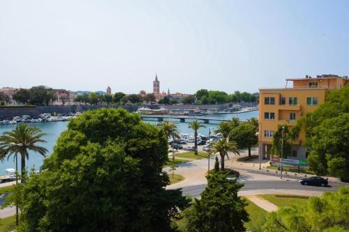 Alojamiento en Zadar con balcón