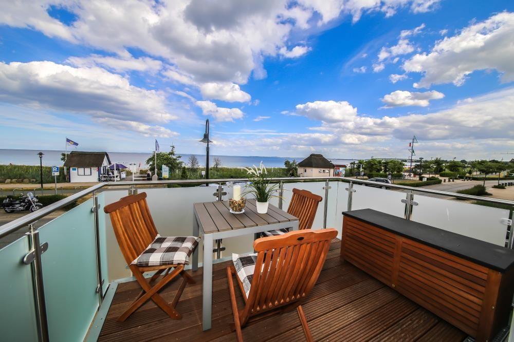 Hébergement à 2 chambres avec balcon