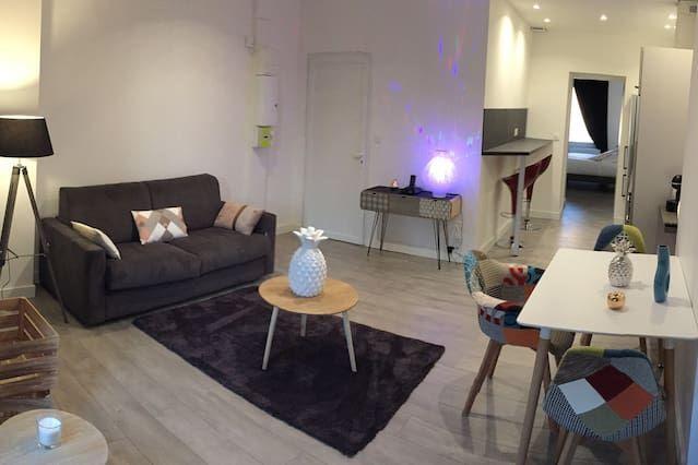 Apartamento con parking incluído de 1 habitación