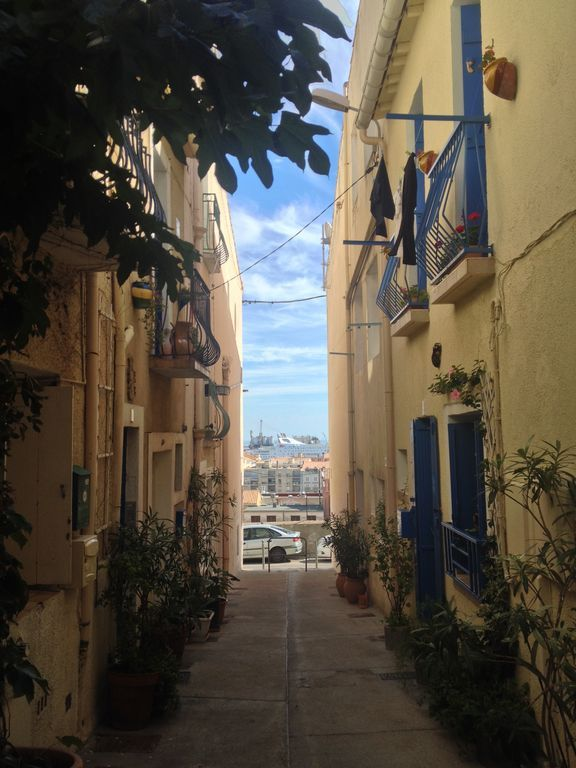 Ferienwohnung in Sète für 2 Gäste