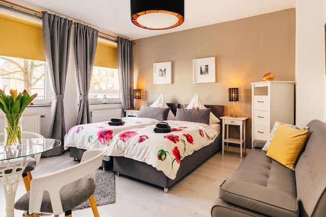 Alojamiento de 30 m² de 1 habitación
