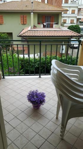 Alojamiento en Sabaudia con balcón