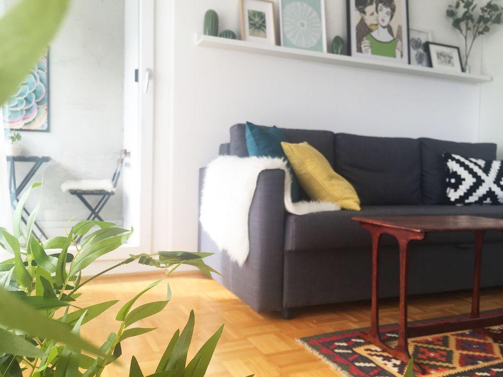 Panorama Apartment auf 54 m²