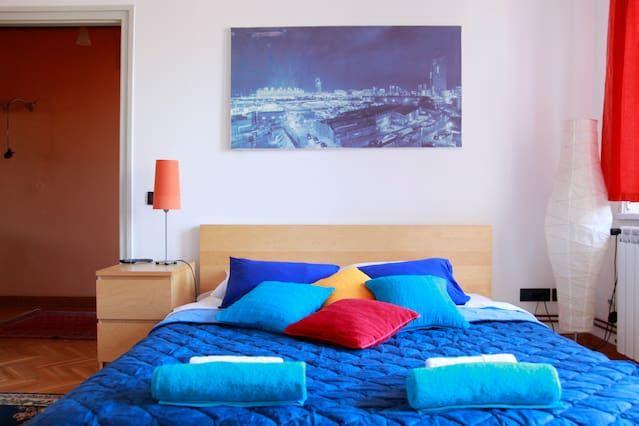 Apartamento con balcón en Belgrade