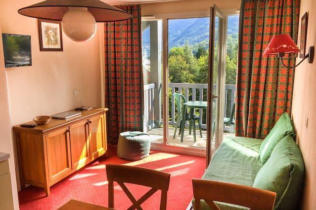 Ferienunterkunft in Saint lary soulan mit 1 Zimmer